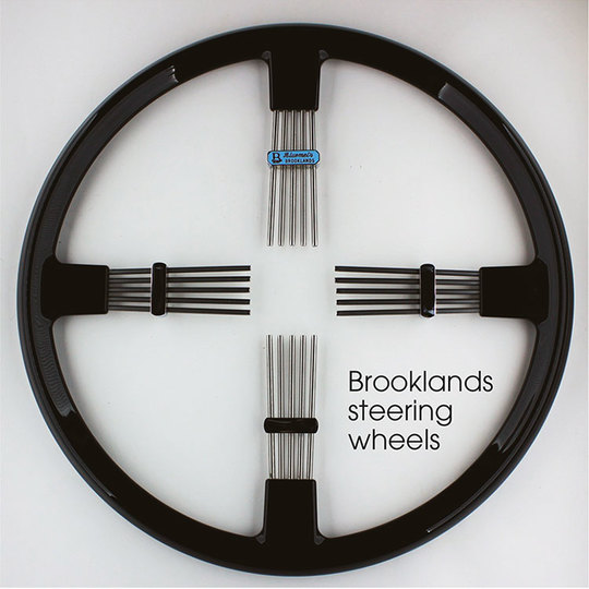 Brooklands steering wheels
