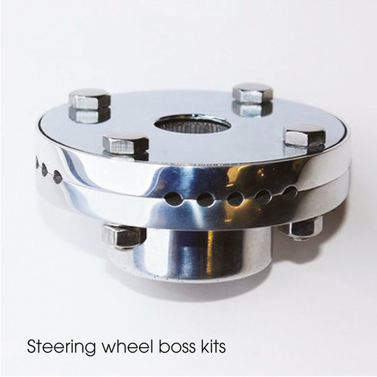Steering wheel boss kits
